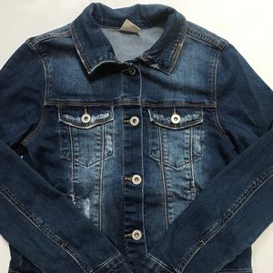 Zara Girls Denim Jacket, 11, 12